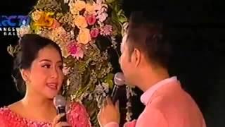 Raffi Ahmad And Nagita Slavina Nyanyi Talk About Love Cipt Melly Goeslaw   Resepsi Bali