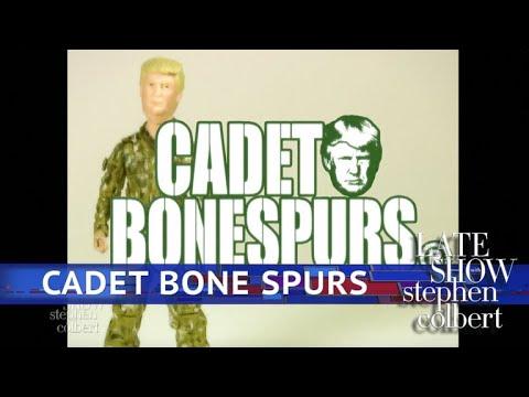 G.I. Joe's New Companion Is. . . Cadet Bone Spurs!