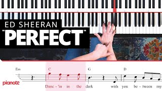 """How To Play """"Perfect"""" On The Piano (Ed Sheeran)"""
