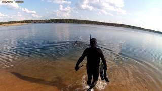 Ловля рыбы на карьерах в твери