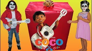Disney Pixar Coco Makeup Makeover Halloween Costumes and Toys