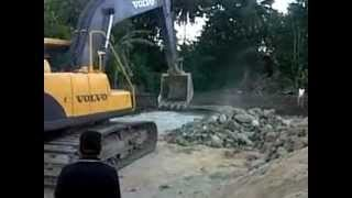 preview picture of video 'eskavator turun dr mobil'