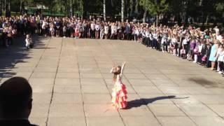Восточный танец. Выступление на 1 сентября 2016. Могилёв. Сш №18.