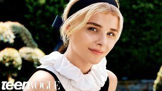 Хлоя Грейс Моретц, Chloë Grace Moretz Gets Sultry and Mysterious for Her October Cover Shoot– Teen Vogue's The Cover