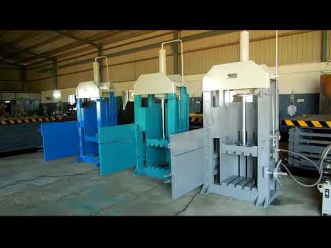 MERRIT WASTE PLASTIC BALING PRESS