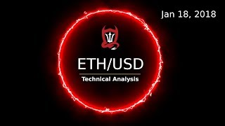 Ethereum Technical Analysis (ETH/USD) : An Elliott Wave Reality Check  [01/18/2018]