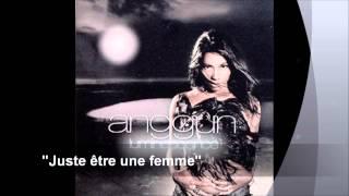 Anggun feat. Diam's - Juste être une femme (Audio)
