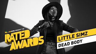 Little Simz   Dead Body Live | #RatedAwards 2015