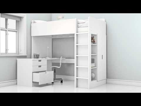 Ikea Stuva / Fritids galériaágy íróasztal kombináció eladó - 80000 Ft - (meghosszabbítva: 2906183078) Kép
