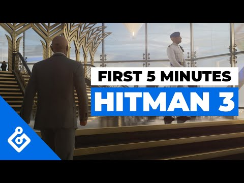 Les 5 premières minutes de jeu de Hitman 3