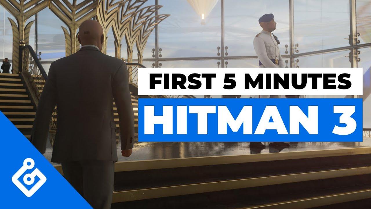 Геймплейный трейлер игры Hitman 3