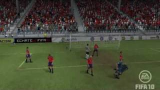 preview picture of video 'The Best Goal of the History (el mejor gol de la historia) FIFA 10'