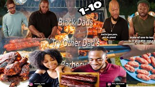 BLACK DADS TRY OTHER BLACK DADS BBQ REACTION