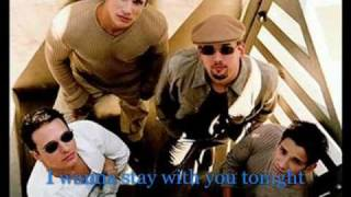 98 degrees Stay the night Lyrics
