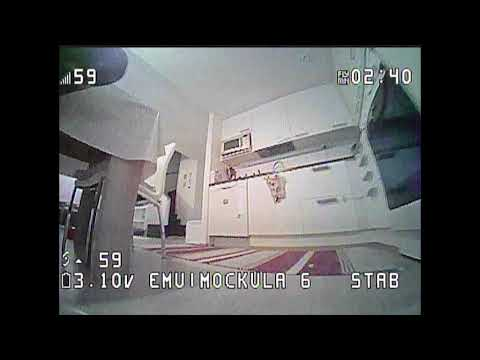 Mockula6: First flight with EmuFlight and Project Mockingbird on the Mobula6 (2020 #42)
