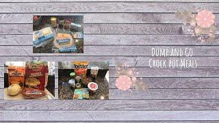 Dump and Go Crock Pot Meals   Quick and Easy Crock Pot Recipes   Homeschool Mom   SAHM