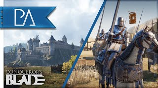 MASSIVE MEDIEVAL BATTLES & WORLD CONQUEST! - Conqueror's Blade Gameplay