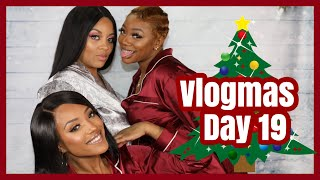 HOLIDAY PARTY RECAP/ LOSING VLOGMAS FOOTAGE! Vlogmas 2019: Day 19