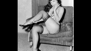 Long Cool Woman - Bettie Page - Lyrics & Wolfman Jack Intro