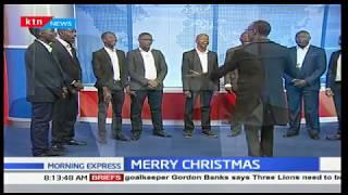 Gospel Center International perform Christmas carols