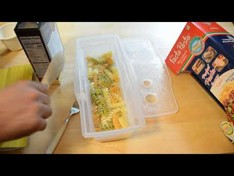 The Original Fasta Pasta Microwave Pasta Cooker Review