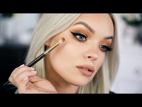 f8445973614 BRONZE SPRING MAKEUP TUTORIAL