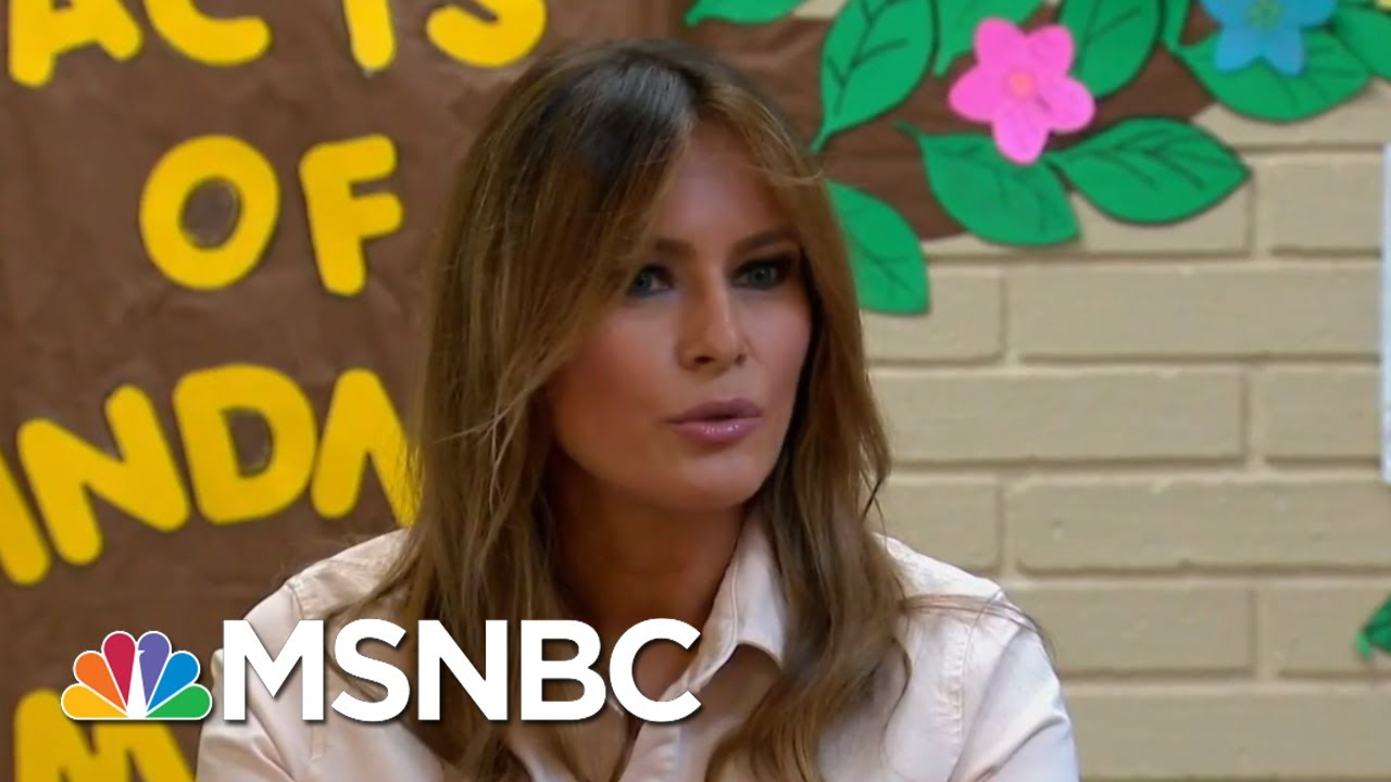 Melania Trump's Migrant Center Visit Marred By Fashion Choice | The 11th Hour | MSNBC thumbnail