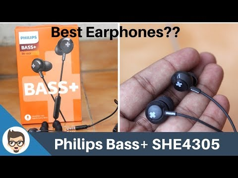 Philips Bass+ SHE4305 Review | Unboxing, Comparison, Best Earphones?