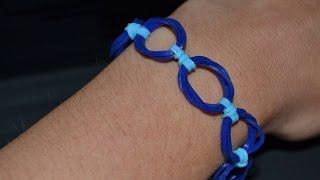 "Bracelet Rainbow Loom ""Forme"" Anneaux"