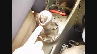Переключение передач на понижение в механике.