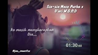 Download lagu Sia Sia Mace Purba X D Ari Mp3