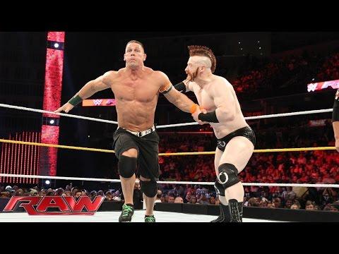John Cena vs. Sheamus: Raw, Sept. 14, 2015