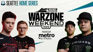 12 PRO TEAMS BATTLE IN CUSTOM WARZONE LOBBY | Warzone Weekend #1 | Seattle Surge Home Series