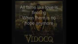 VIDOCQ - Hope Vol II - Apocalyptica Ft. Matthias Sayer with Lyrics