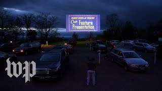 For this drive-in movie theater, a chance to return to normalcy