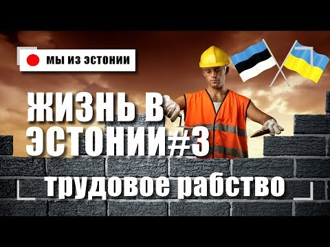 Работа в Эстонии Влог #3 Как Живут и Работают в Таллинне Нелегальные Гастарбайтеры из Украины