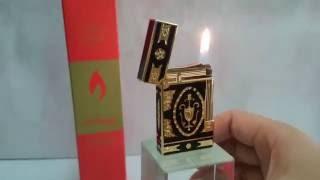 Bật lửa Dupont hoa văn cực đẹp | Deva.vn | Giá 650.000 Đ
