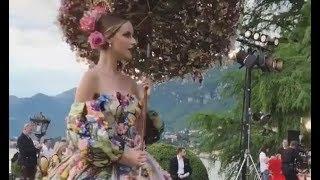 Dolce&Gabbana Alta Moda FW 2018/19 Lake Como