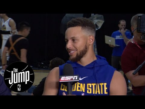 Steph Curry agrees with Kevin Durant to skip White House visit | The Jump | ESPN