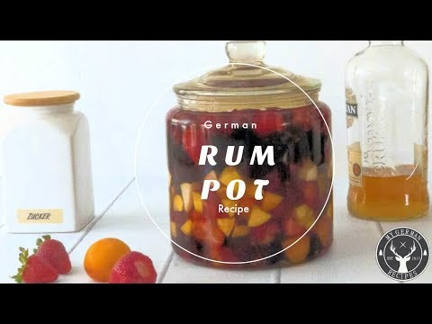 Traditional German Rum Pot / Rumtopf ✪ MyGerman.Recipes