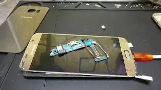 Samsung GALAXY S6 - Будь ты проклят! Замена разъема через переклейку стекла.