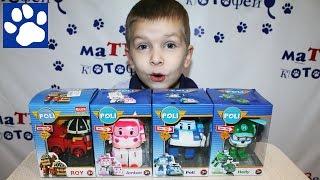 Коллекция игрушек РОБОКАР ПОЛИ распаковка | ROBOCAR POLI Toys Unboxing