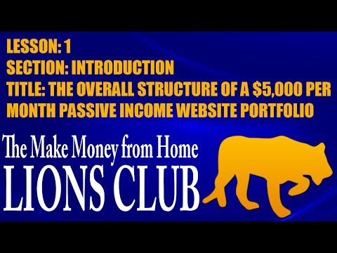 MIKE OMAR: HOW TO MAKE MONEY ONLINE: THE $5000 / MONTH PASSIVE INCOME BUSINESS PLAN