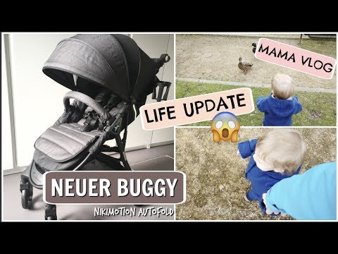 UNSER NEUER BUGGY l Unboxing! nikimotion Autofold l AB IN DEN PARK l MAMA ALLTAG VLOG l HelloCathi