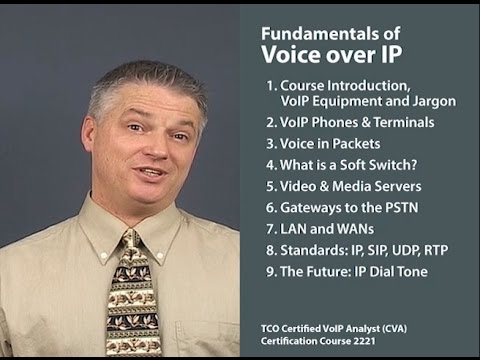 Fundamentals of Voice over IP - Course Introduction - YouTube