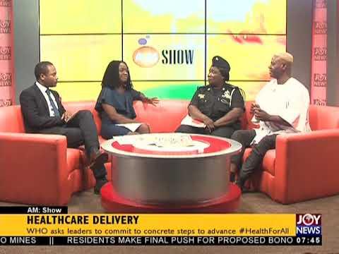Healthcare Delivery - AM Talk on JoyNews (9-4-18)