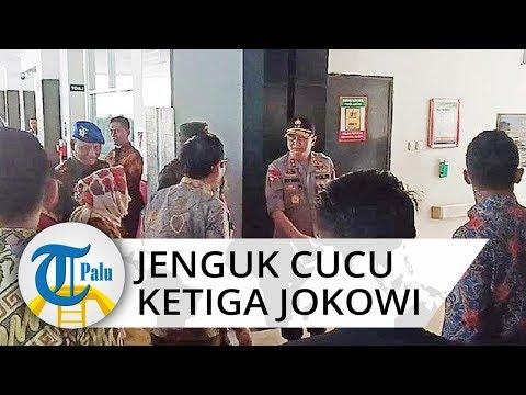 Mahfud MD Menteri Pertama Jenguk La Lembah Manah Cucu Jokowi