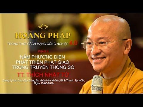 Năm phương diện phát triển Phật giáo trong truyền thông số - TT. Thích Nhật Từ