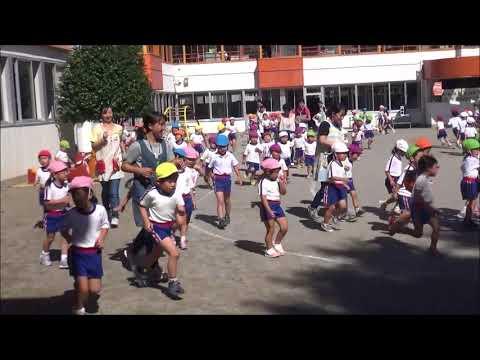 笠間 友部 ともべ幼稚園 子育て情報「3分間マラソン」