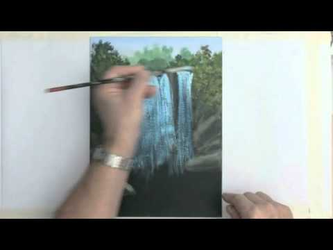 Painting A Waterfall With Acrylics